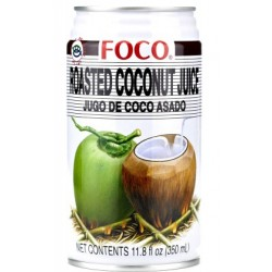Foco Toasted Cococnut Juice - 350ml (24 units box)