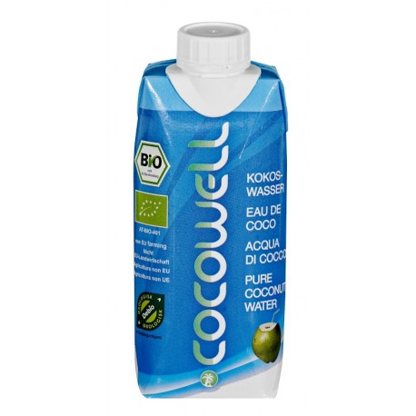 Cocowell PURE Organic 330ml (12u box)