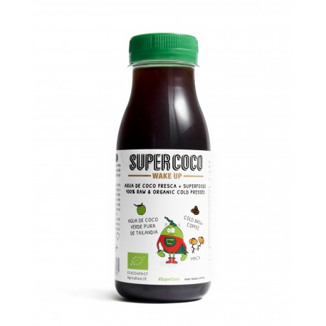 SUPERCOCO -WAKE UP- 240 ml. (Box 16 ud)