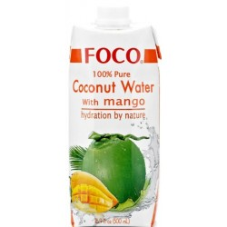 Foco Coconut Water and Mango - 500ml (12 units box)